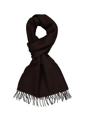 Profuomo heren sjaal, bruin wol