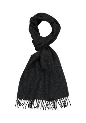 Profuomo heren sjaal, grijs tweed