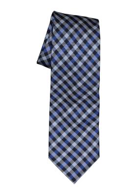 Michaelis stropdas, blauw geruit