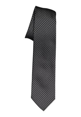 Michaelis stropdas, zwart dessin