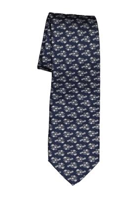 Michaelis stropdas, blauw met kreeftjes