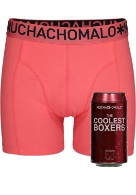 Muchachomalo boxershorts, the coolest boxer, koraal in blik