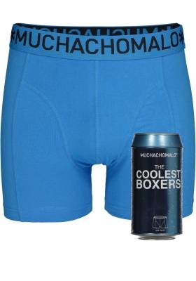 Muchachomalo boxershorts, the coolest boxer, kobaltblauw in blik