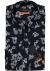 Seidensticker Slim Fit overhemd, blauw-paars paisley dessin