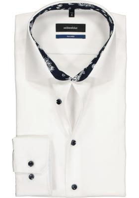 Seidensticker Tailored Fit, wit (contrast)