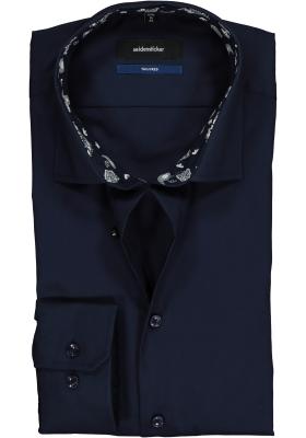 Seidensticker Tailored Fit, donkerblauw (contrast)