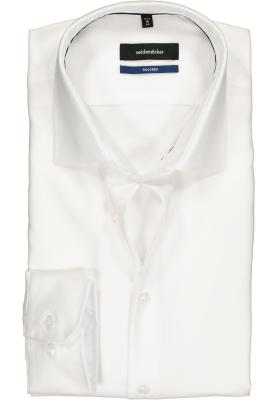 Seidensticker Tailored Fit, wit structuur