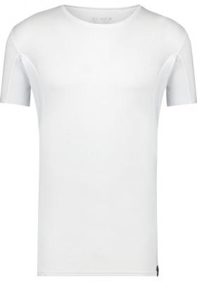 RJ Bodywear Sweatproof T-shirt (1-pack), heren T-shirt met anti-zweet oksels, O-hals, wit