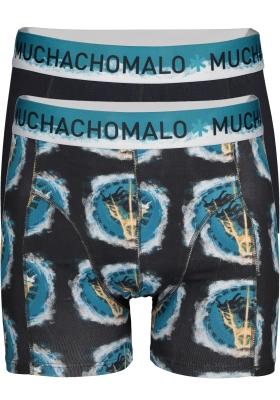 Muchachomalo boxershorts, 2-pack, Transcended