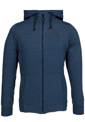 Bjorn Borg Andre hoodie jacket, sweatvest jeansblauw melange