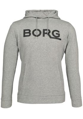 Bjorn Borg Aiden hoodie jacket, sweatshirt grijs melange