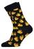 Happy Socks sokken Rubber Duck blauw met geel