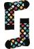 Happy Socks sokken Clashing dots