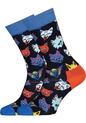 Happy Socks Funny Cat Sock
