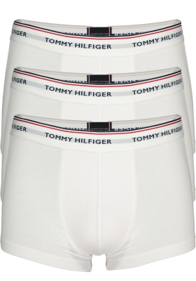 Tommy Hilfiger low rise trunk (3-pack), wit