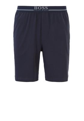 Hugo Boss heren lounge broek kort, blauw (dun)