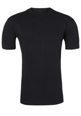 HOM Harro New T-shirt O-hals, zwart