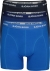 Bjorn Borg boxershorts Essential, 3-pack, drie tinten blauw