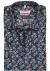MARVELIS Modern Fit overhemd, korte mouw, blauw, groen en roze gebloemd