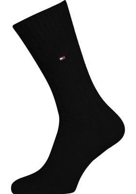 Tommy Hilfiger True America Socks (2-pack), herensokken katoen, zwart