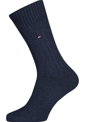 Tommy Hilfiger True America Socks (2-pack), herensokken katoen, jeans blauw