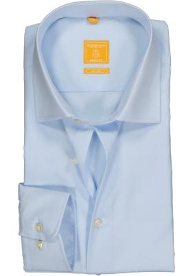 Redmond Modern Fit overhemd mouwlengte 7, licht blauw