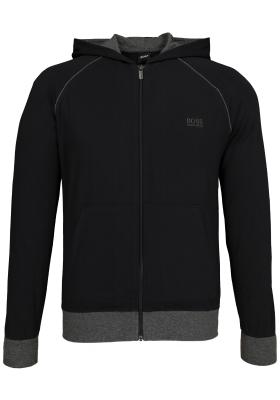 Hugo Boss heren lounge vest, zwart (middeldik)