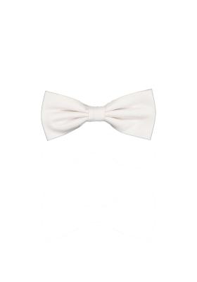 Vlinderdas wit zijde