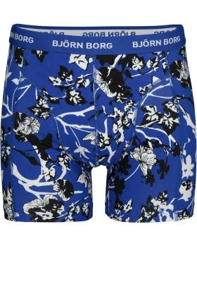 Bjorn Borg boxershorts Essential, 1-pack, blauw print