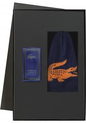 Heren cadeaubox: Le homme Lacoste parfum met Lacoste muts in cadeaubox