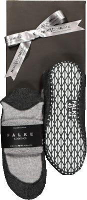 Falke Cosyshoes in geschenkverpakking, grijs