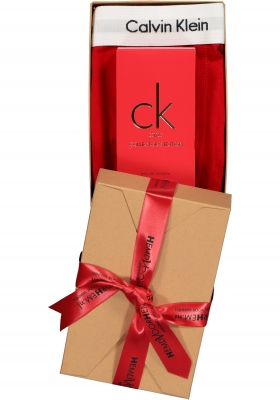 Heren cadeaubox: CK One Red parfum + Calvin Klein boxershort