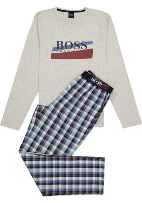 Hugo Boss heren pyjama set in cadeauverpakking, grijs