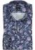 OLYMP Modern Fit overhemd, blauw paisley dessin