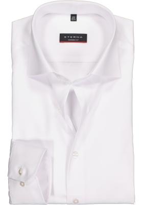 ETERNA modern fit overhemd, mouwlengte 72 cm, niet doorschijnend twill heren overhemd, wit