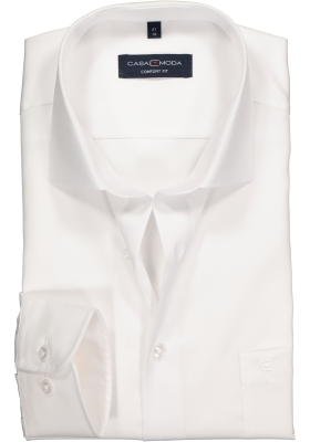 CASA MODA comfort fit overhemd, wit twill