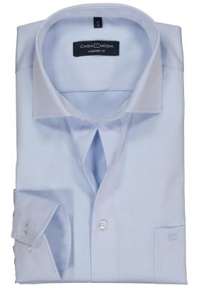 CASA MODA comfort fit overhemd, lichtblauw twill