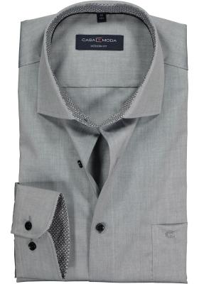 CASA MODA modern fit overhemd, grijs (contrast)