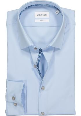 Calvin Klein Slim Fit, overhemd, lichtblauw (contrast)