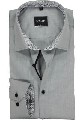 VENTI modern fit overhemd, grijs (contrast)