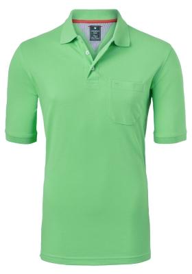 Redmond Regular Fit poloshirt, groen