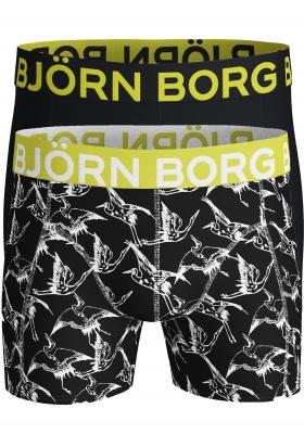 Bjorn Borg boxershorts Core, 2-pack, print en uni