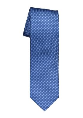 OLYMP stropdas, blauw motief