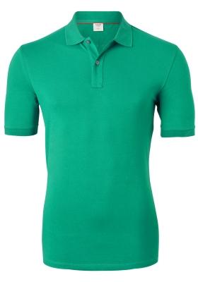 OLYMP Level 5 Body Fit poloshirt (stretch), groen