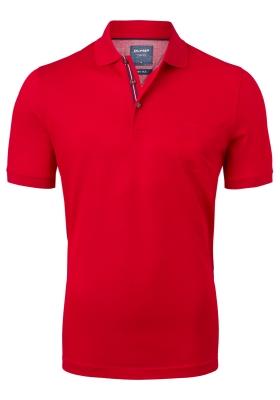 OLYMP modern fit poloshirt, rood