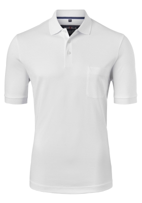 Marvelis Modern Fit poloshirt Quick Dry, wit