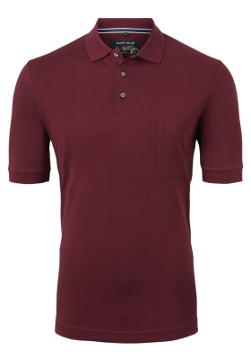 Marvelis Modern Fit poloshirt Quick Dry, bordeaux rood