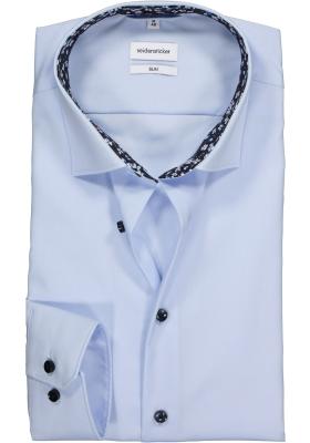 Seidensticker Slim Fit overhemd, lichtblauw (contrast)