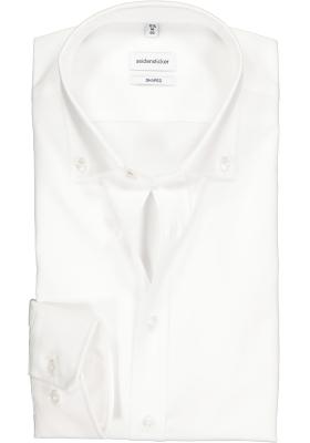 Seidensticker Shaped Fit overhemd button-down, wit