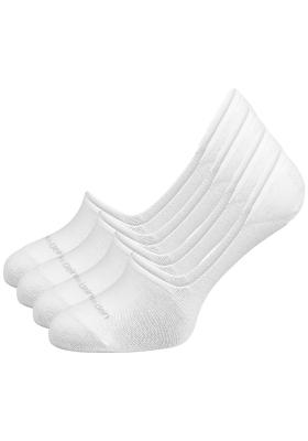Calvin Klein, Luca herensokken (2-pack), witte no show sneakersokken